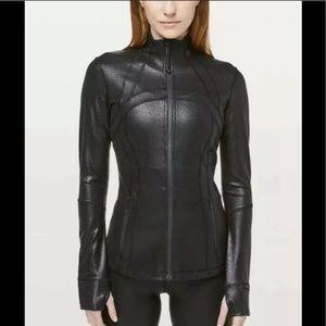 Lulu🍋 SPARK Luminosity Foil Black Define Jacket 6
